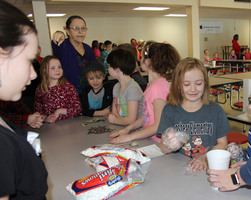 Second Grade Sells Hot Chocolate During Good Citizenship Lesson