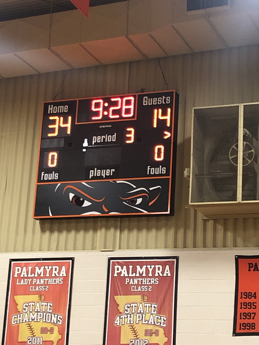 Halftime in Palmyra