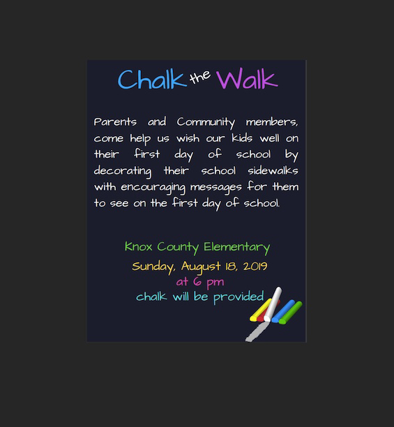 Chalk the Walk!