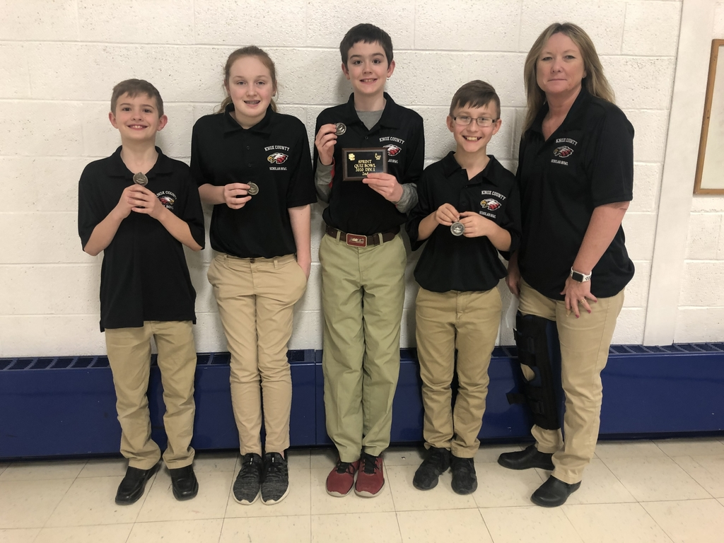 6th grade Scholar Bowl Team